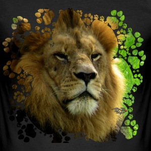 Lion T-Shirts - Männer Slim Fit T-Shirt