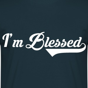 I'm blessed christian t shirt T-Shirts - Men's T-Shirt