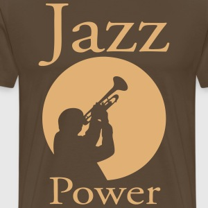 Jazz power 02 Tee shirts - T-shirt Premium Homme