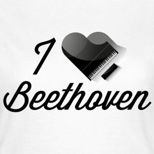 Pianoheart Beethoven T-Shirts - Frauen T-Shirt