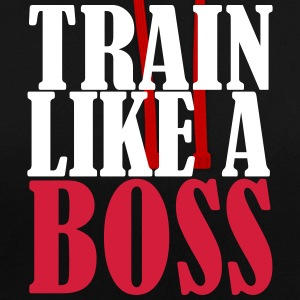 Train Like a Boss - Kontrast-Hoodie