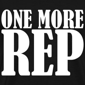 One More Rep - Camiseta premium hombre