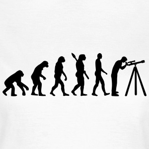 Evolution Astronomie T-Shirts - Frauen T-Shirt