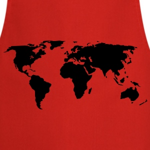 world map  Aprons - Cooking Apron