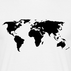 world map T-Shirts