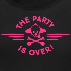 the party is over T-Shirts - Women's Scoop Neck T-Shirt