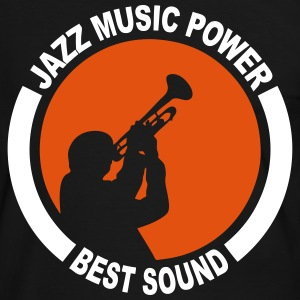 Jazz power 03 Tee shirts - T-shirt contraste Homme