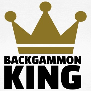 Backgammon King T-Shirts - Frauen T-Shirt