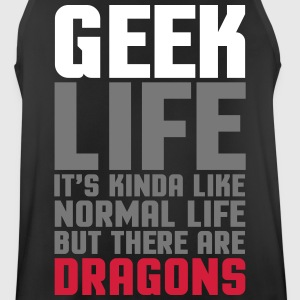 Geek Life  Sports wear - Men's Breathable Tank Top