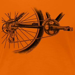 wheel T-shirts - Vrouwen Premium T-shirt