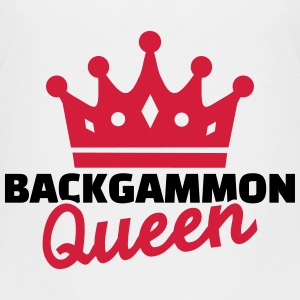 Backgammon Queen T-Shirts - Kinder Premium T-Shirt