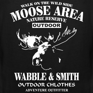 Moose Nature Reserve Sports wear - Men's Premium Tank Top