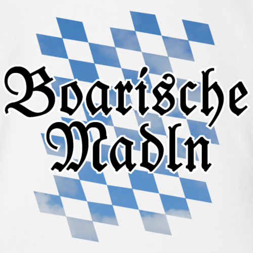 Boarische Madln Bayern Mädels Mädchen (Rauten)
