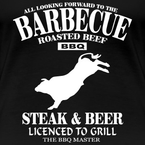 Barbecue - BBQ T-Shirts - Women's Premium T-Shirt