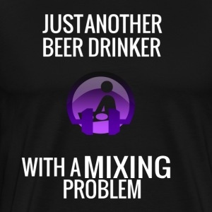 DJ Beer Mixing - Men's Premium T-Shirt