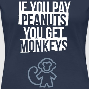monkeys T-Shirts - Frauen Premium T-Shirt