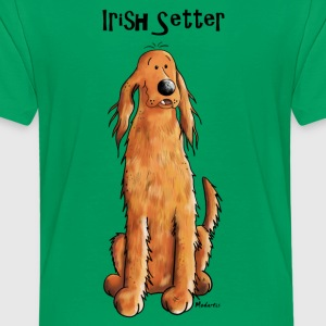 Happy Irish Setter Shirts - Kids' Premium T-Shirt