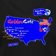 Grafiikka ~ Golden Gate short for girls