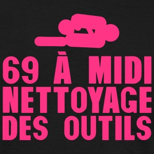 69 a midi nettoyage des outils 603 Tee shirts - T-shirt Homme