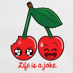 Life is a joke T-Shirts - Women's Ringer T-Shirt