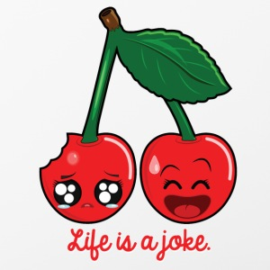 Life is a joke Phone & Tablet Cases - iPhone 4/4s Hard Case