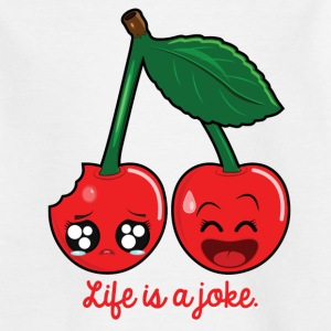 Life is a joke Tee shirts - T-shirt Ado