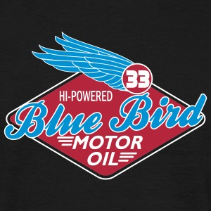 Blue Bird Oil - Men's T-Shirt