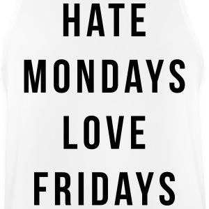 Hate Mondays, Love Fridays Sports wear - Men's Breathable Tank Top