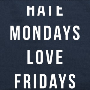 Hate Mondays, Love Fridays Bags & Backpacks - Retro Bag
