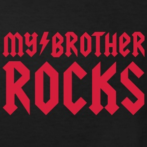 My brother rocks Shirts - Kinderen Bio-T-shirt
