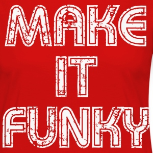 Make it Funky Manches longues - T-shirt manches longues Premium Femme