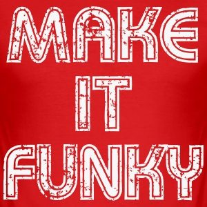 Make it Funky Tee shirts - Tee shirt près du corps Homme