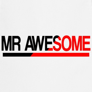 Mr Awesome  Aprons - Cooking Apron