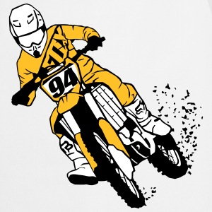 Moto Cross Kookschorten - Keukenschort