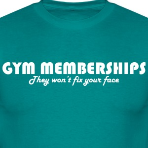 Gym Memberships T-shirts - Mannen T-shirt