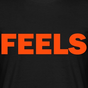 feels T-shirts - Herre-T-shirt