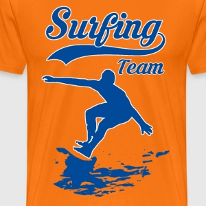 Surfing Team 01 - T-shirt Premium Homme