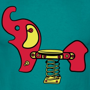 Elephant's child playground baby T-Shirts - Men's T-Shirt