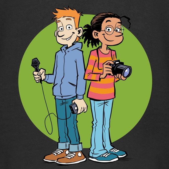 Kinder Kapuzenjacke Reporter