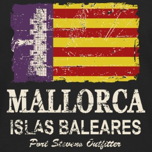 Mallorca Vintage Flag Long sleeve shirts - Men's Premium Longsleeve Shirt