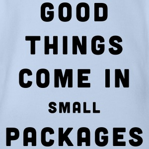 Good Things / Small Packages Shirts - Baby bio-rompertje met korte mouwen