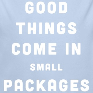 Good Things / Small Packages Baby body - Baby bio-rompertje met lange mouwen