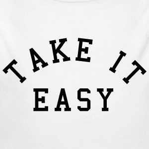 Take It Easy Baby body - Baby bio-rompertje met lange mouwen