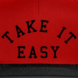 Take It Easy Caps & Hats - Snapback Cap