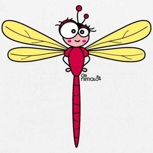 Libellule Rouge, Insecte Volant