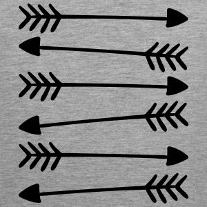 Hand Drawn Arrows 2 Tank Tops - Men's Premium Tank Top
