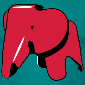 Olifant Tin T-shirts - Mannen T-shirt
