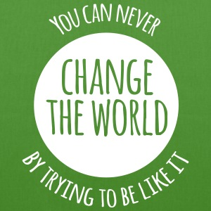 Change The World Bags & Backpacks - EarthPositive Tote Bag