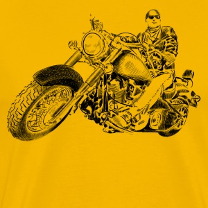 chopper T-shirts - Herre premium T-shirt