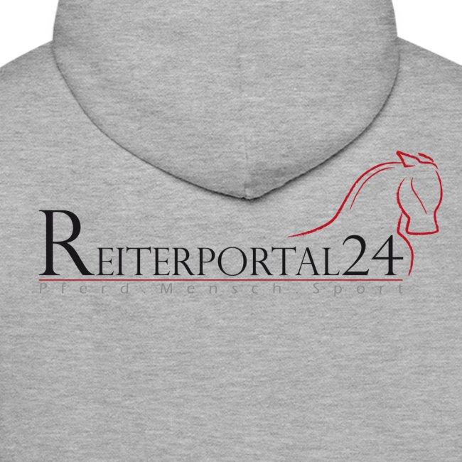 Reiterportal24 Männer Kapuzenpullover grau